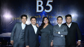 B5 เผยอัลบั้มใหม่และแพลนคอนเสิร์ตใหญ่ ฉลองครบรอบ 15 ปีของวง