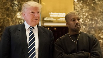 """โซเชียลเดือด! เมื่อเหล่าศิลปินตอบโต้ Kanye West หลังทวีตบอก """"รัก"""" Donald Trump"""