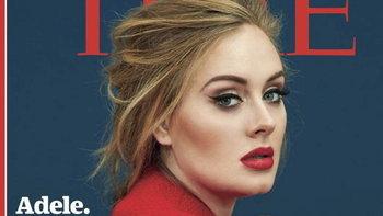 ADELE ยังแรงไม่หยุด ได้รับเกียรติขึ้นปก TIME Magazine