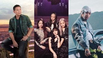 """""""มนต์แคน-BLACKPINK-YOUNGOHM"""" คว้า Top 3 ศิลปินที่มียอดวิว YouTube ไทยสูงสุด"""