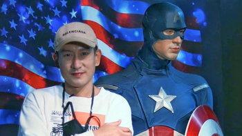 """""""แพท Power Pat"""" เผยรูปคู่ Captain America แต่โดนรุ่นน้องแซวเรื่องแคปชั่นเต็มๆ"""