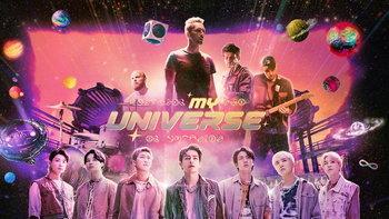 """ColdplayxBTS ปล่อยเอ็มวีเพลงใหม่ """"My Universe"""" พร้อมส่งพลังบวกให้ทุกคน"""