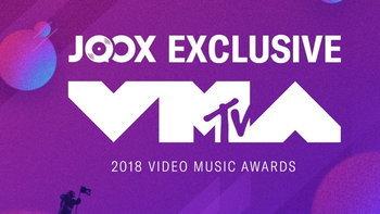 JOOX มอบประสบการณ์สุดพิเศษทางดนตรี ถ่ายทอดสดงาน  MTV VMA 2018  ชมสดพร้อมกันทั่วโลก