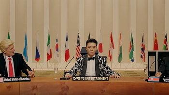 """ซึงรี BIGBANG บุกสภา! ป่วนผู้นำโลกในเอ็มวีใหม่ """"Where R U From"""""""