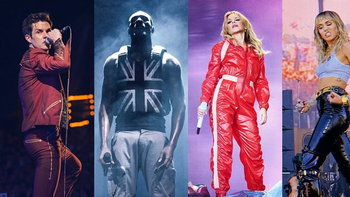 The Killers, Stormzy, Kylie Minogue, Miley Cyrus เซอร์ไพรส์แฟนๆ ใน Glastonbury 2019