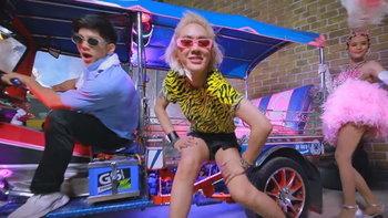 """""""ดัง พันกร"""" แดนซ์สะบัด! โชว์แฟชั่นสุดล้ำในเอ็มวีเพลงใหม่ 'Gimme body"""""""