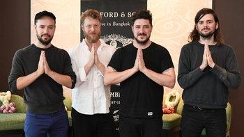 Mumford & Sons เดินทางถึงไทยแล้ว พร้อมเปิดคอนเสิร์ต 21 พ.ย. นี้