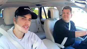 """Justin Bieber เต้น """"Yummy"""" แข่งงัดข้อ คุยเรื่องแต่งงานใน Carpool Karaoke"""