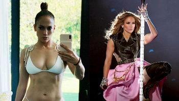 """""""Jennifer Lopez"""" เผยหุ่นแซ่บในวัย 50 สตรองจนคนกดไลค์ทะลุล้าน (อัลบั้มภาพ)"""