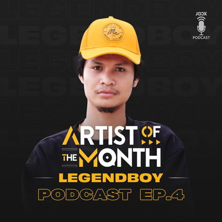 Artist of The Month Podcast: LEGENDBOY