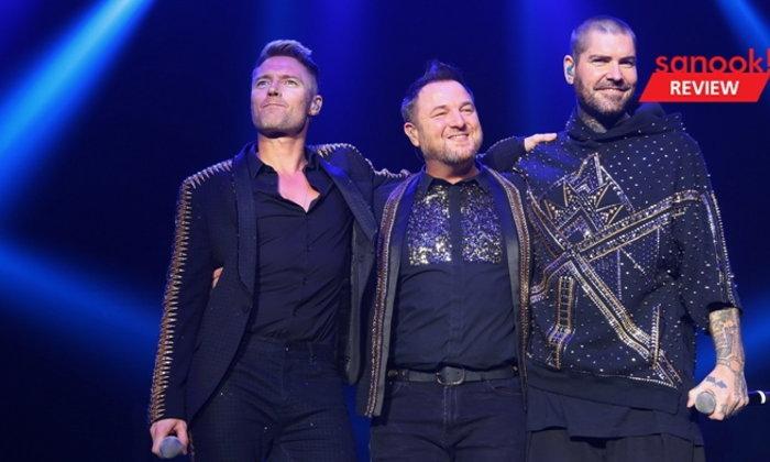 Boyzone กับคอนเสิร์ตครั้งสุดท้ายในไทยพร้อมภาพจำที่อบอวลด้วยรอยยิ้มและมิตรภาพ