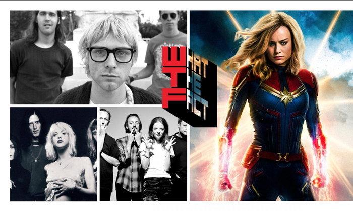 [ดูหนังฟังเพลง] ย้อนกลับไปในอดีตผ่านบทเพลงแห่งยุค 90 ใน Captain Marvel