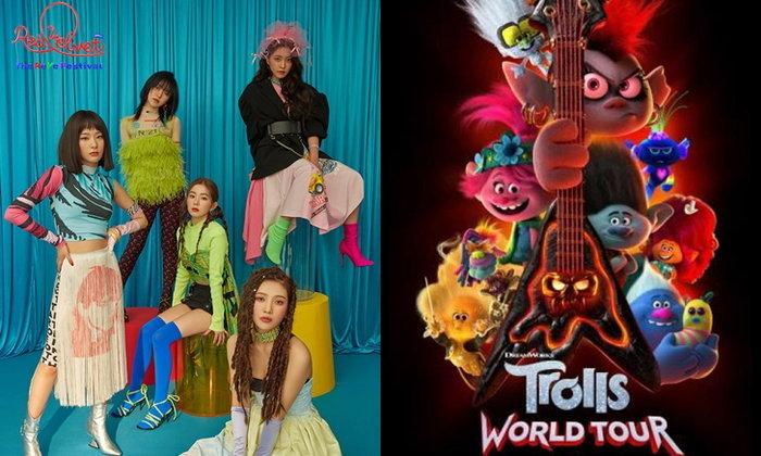 """ปังมากพี่เค้ก! เพลง """"Zimzalabim"""" ของ Red Velvet ถูกใช้ประกอบหนังแอนิเมชั่น Trolls World Tour"""