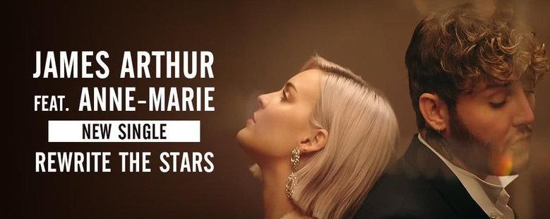 Single : Rewrite The Stars - James Arthur, Anne-Marie (S!)