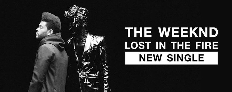 Single : Lost in the Fire - The Weeknd (S!)