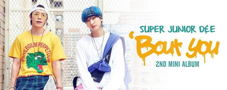 Album : 'Bout You - The 2nd Mini Album - SUPER JUNIOR-D&E