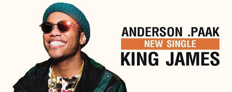 Single : King James - Anderson .Paak (S!)