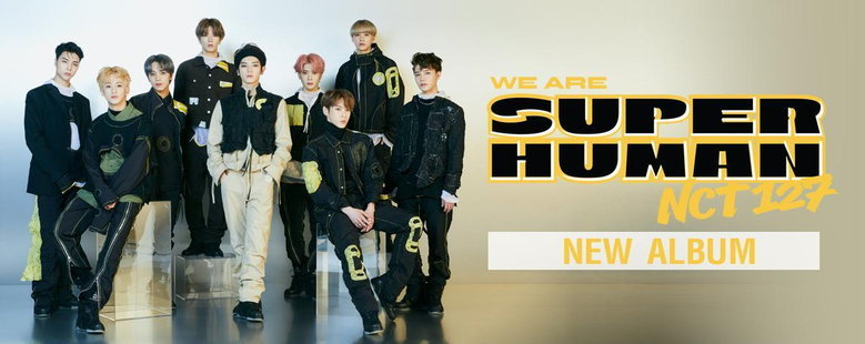 Album : NCT #127 WE ARE SUPERHUMAN - NCT 127