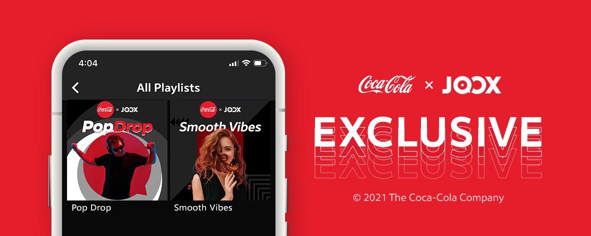 Coca Cola x JOOX Exclusive Playlist #1 Pop Drop #2 Smooth Vibes