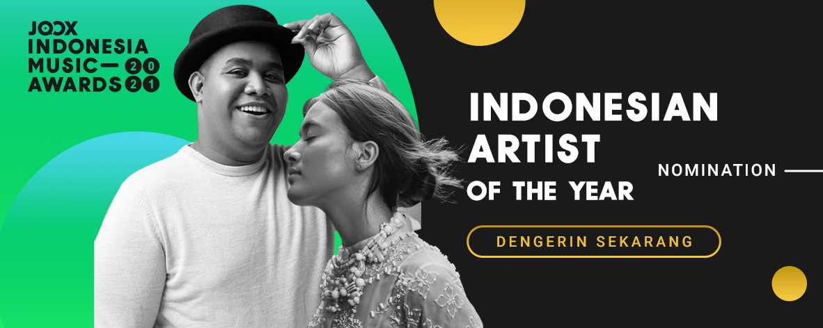 JIMA 2021 - Indonesian Artist of The Year Nomination