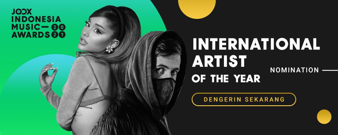 JIMA 2021 - International Artist of The Year Nomination
