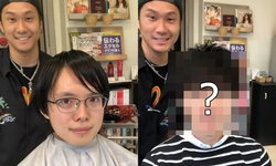 """ทรงผมเปลี่ยนชีวิตจริงๆ """"ช่างทำผมญี่ปุ่น"""" ฝีมือเทพแค่ตัดผมก็เปลี่ยนลุคหนุ่มเนิร์ดเป็นหนุ่มหล่อ"""
