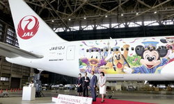 JAL เปิดตัวเครื่องลำใหม่!! ฉลองครบรอบ 35 ปี Tokyo Disney Resort
