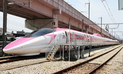 """น่ารักทุกตารางนิ้ว เผยโฉมภาพจริง """"Hello Kitty Shinkansen"""" ก่อนเริ่มวิ่งวันแรก 30 มิ.ย.นี้"""