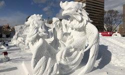 """ชาวไทยสร้างชื่อ! คว้าแชมป์แกะสลักหิมะนานาชาติใน """"เทศกาลหิมะซัปโปโร 2018"""""""