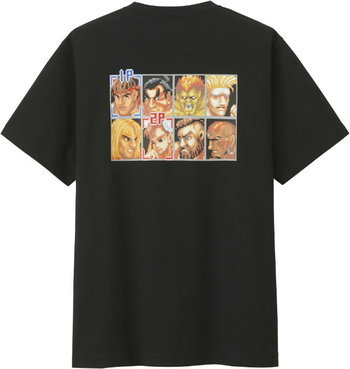 เสื้อยืด Street Fighter
