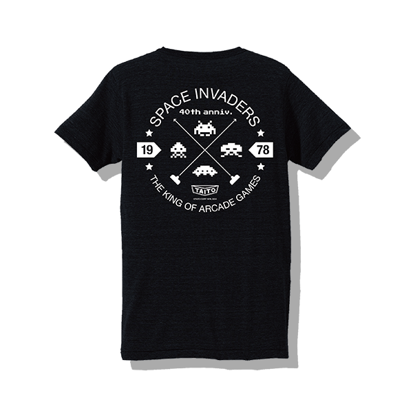 space-invadrs-40th-t-shirt