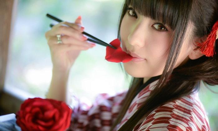 """""""Nagomi Chaya Musume"""" เกิร์ลกรุ๊ปที่ก่อตั้งวงจากพนักงานร้านอินเทอร์เน็ตคาเฟ่"""