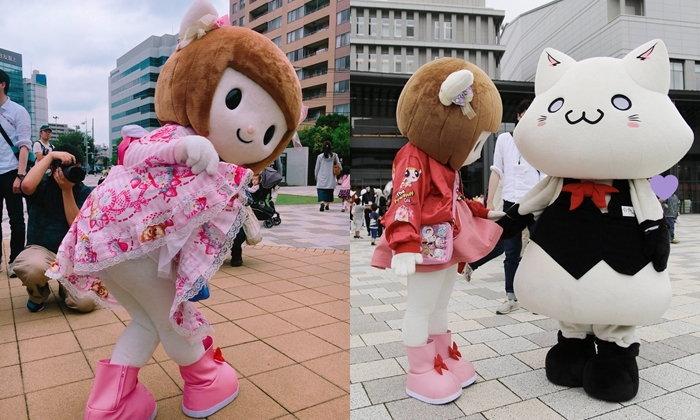 Nowa Yukigami มาสคอตโชว์กางเกงใน สายทะเล้น แต่น่ารักไม่เบา