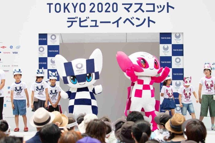 เปิดตัว 2 มาสคอตโตเกียวโอลิมปิก 2020 อย่างเป็นทางการ