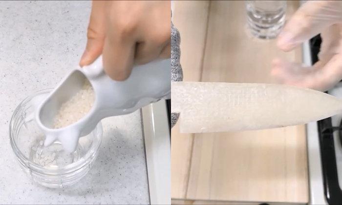 ร้ายกาจ Youtuber ญี่ปุ่น ทำมีดจากช็อกโกแลต และวัสดุสุดแปลกแต่ออกมาคมมาก