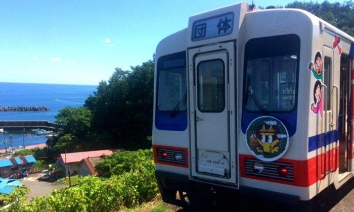 ขึ้นรถไฟสายพิเศษ พร้อมเรียนรู้การป้องกันภัยพิบัติ