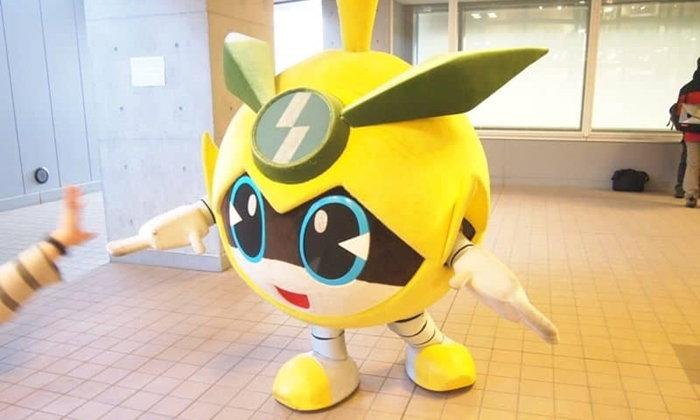 """รู้จัก """"Inagi Nashinosuke"""" มาสคอตตัวใหม่แห่งอินะงิที่สืบเชื้อสายมาจากหุ่นกันดั้ม"""