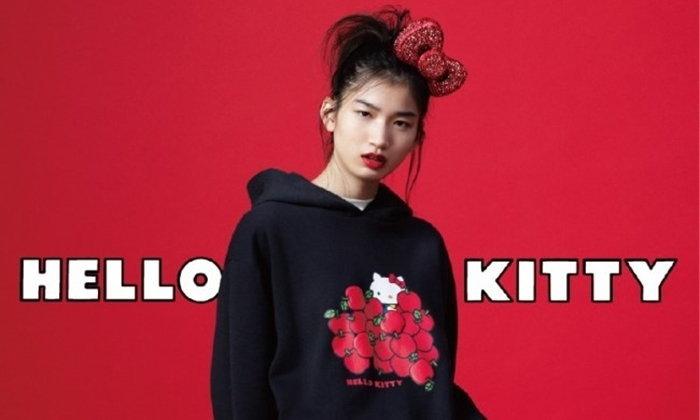 """""""Retro Kawaii"""" คอลเลคชั่นเอาใจสาวๆ จากแบรนด์ GU และ Hello Kitty"""