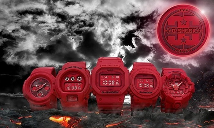 """วางจำหน่ายแล้ว! """"RED OUT"""" นาฬิกา G-SHOCK รุ่นฉลองครบรอบ 35 ปี"""
