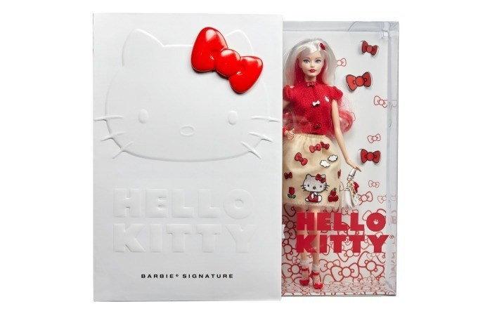 """""""Barbie x HELLO KITTY"""" การโคจรมาเจอกันของ 2 ตุ๊กตาดัง จำหน่าย 1,000 ชิ้นเท่านั้น"""