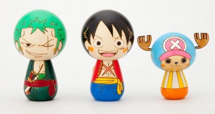 เมื่อเหล่าตัวการ์ตูนในดวงใจ อยู่ในร่างตุ๊กตาไม้ญี่ปุ่นโคเคชิ