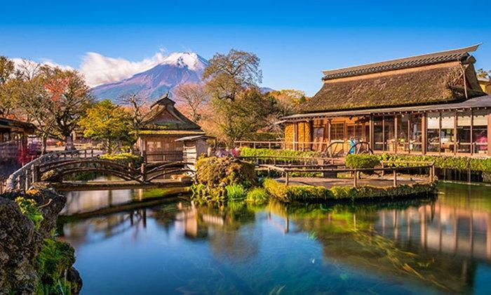 """ไปขอพรบ่อน้ำศักดิ์สิทธิ์ที่ """"หมู่บ้านโอชิโนะฮัคไค"""" กันเถอะ"""