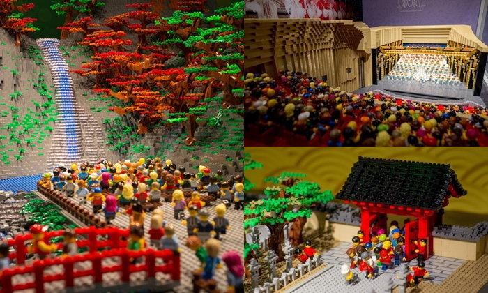 ชมความสุดยอดของนิทรรศการ LEGO ที่ HANKYU BRICK MUSEUM ย่าน Sanbangai โอซาก้า