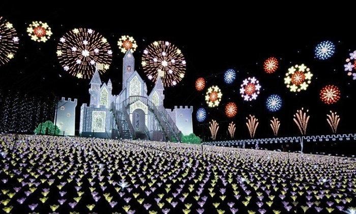 สวน Ashikaga สวยอลังการติดอันดับ Top 3 งานแสดงไฟในญี่ปุ่น