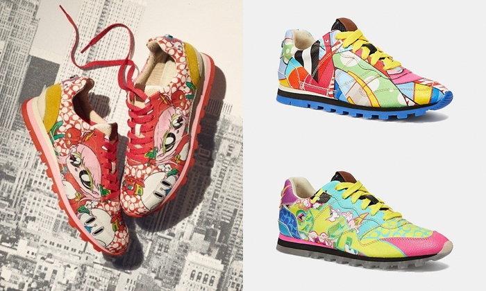Coach ส่งรองเท้าสุดลิมิเต็ด ออกแบบโดย 5 ศิลปินจากทั่วโลกรวมถึงญี่ปุ่น
