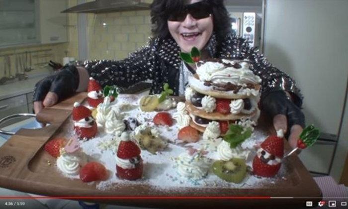 โทชิ (X Japan) ผันตัวเป็น Youtuber เปิดตัวคลิปแรกรีวิวครีมทำขนม!