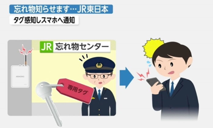 JR-EAST เริ่มใช้ระบบเตือนอัจฉริยะเมื่อผู้โดยสารลืมของ!