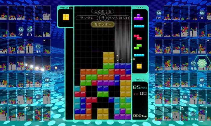 """เมื่อ """"เทพปะทะเทพ"""" เพื่อชิงความเป็นหนึ่งใน """"Tetris 99"""" จะดุเดือดแค่ไหน ไปดูกัน!"""