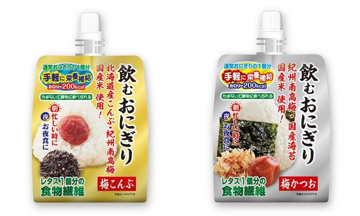 """""""ข้าวปั้นโอนิกิริ ดื่มได้"""" นวัตกรรมของกินน่าโดนจากญี่ปุ่น ที่น่ากินมาก!"""