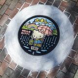 ญี่ปุ่นเปลี่ยนฝาท่อน้ำทิ้งเป็นงานศิลปะสุดน่ารัก